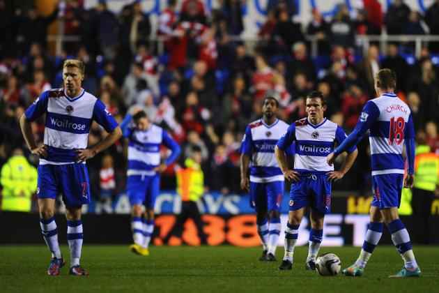 EPL: Reading Looking to Rebound from Tuesday Loss in Relegation Battle with QPR