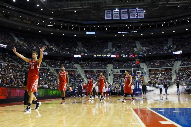Fog Machine Delays Pistons-Rockets Game (VIDEO)