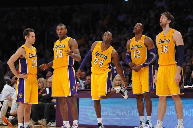 Princeton Offense Isn't the Solution for Struggling Los Angeles Lakers