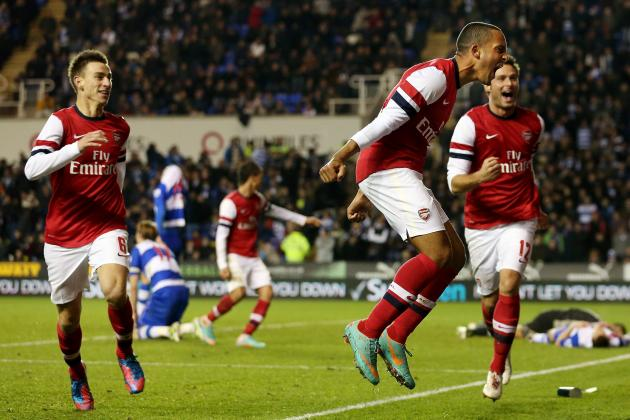 Arsenal vs. Reading: The Game That Thrilled the World
