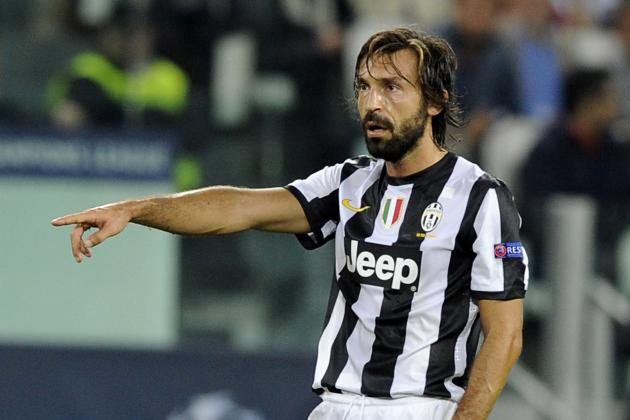 Platini Tips Pirlo for Ballon d'Or