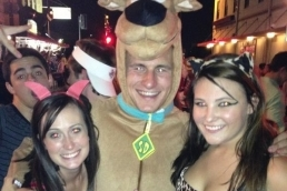 Texas A&M's Johnny Manziel Proves Ladies Love Scooby Doo at Halloween