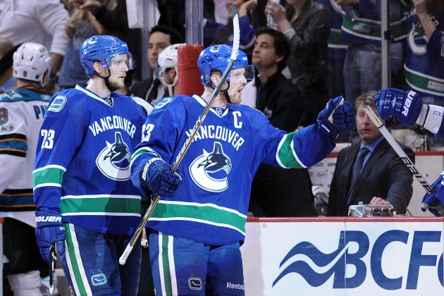 Report: Alex Edler, Jason Garrison Skate with Canucks