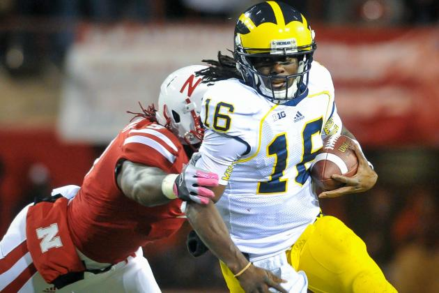 Michigan Football: A Half-Speed Robinson Is Enough for Wolverines vs. Minnesota