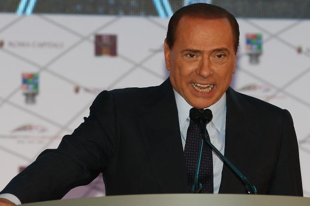 Berlusconi Rages at Allegri Tactics