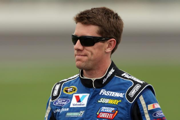 Carl Edwards: Will He Remain Odd Man out at Roush Fenway Racing?