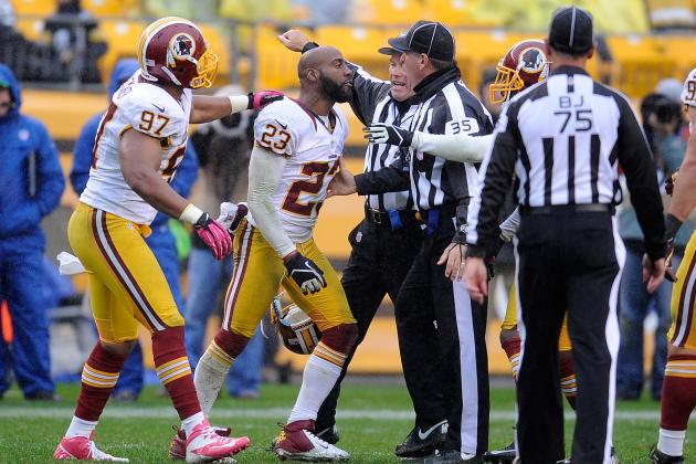 DeAngelo Hall Will Be Fined but Not Suspended