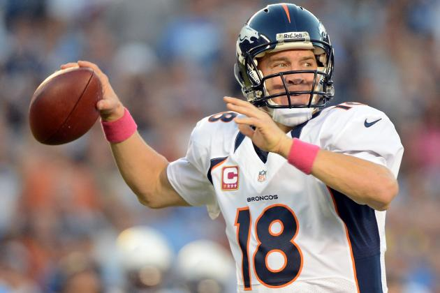 Peyton Manning: Projecting Fantasy Outlook for Week 9 Matchup vs. Bengals