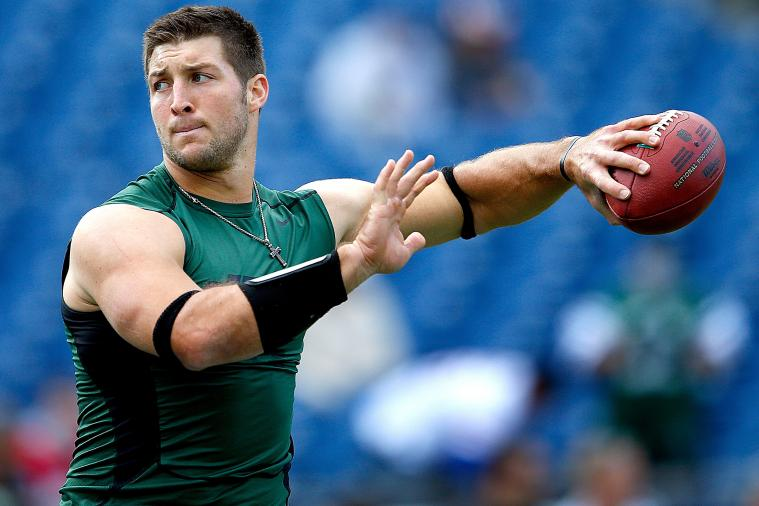 Tim Tebow: New York Jets Must Start Tebow to Succeed in Second Half