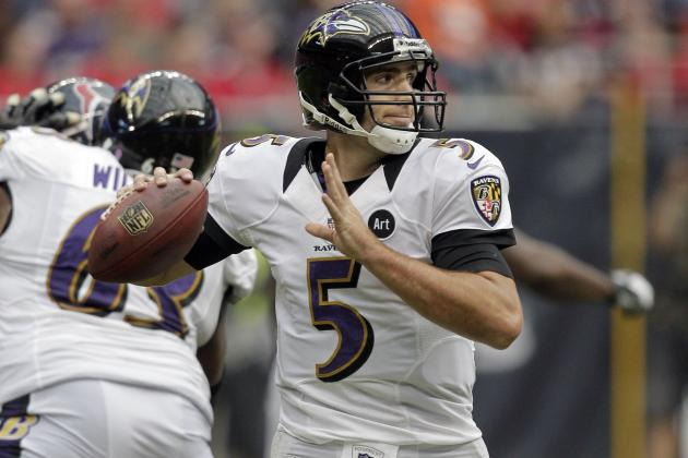 Ravens vs. Browns: A Good Game from Joe Flacco Would Prove Ravens Can Contend