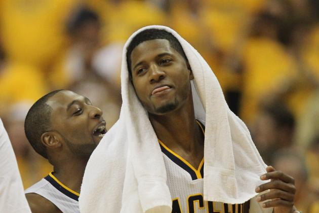 How Paul George Spent His Summer Vacation: Learning to Dribble