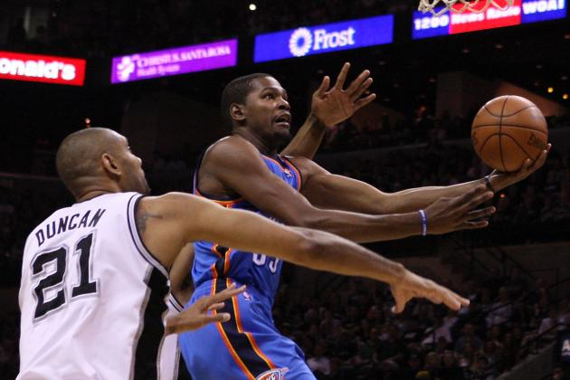 Oklahoma City Thunder vs. San Antonio Spurs: Live Blog, Analysis and More