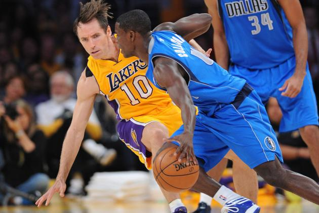 Steve Nash Injury: How Lakers PG's Injured Leg Impacts Team Early in Season