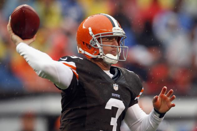 Cleveland Browns QB Brandon Weeden Can Do Wonders with Ravens Win