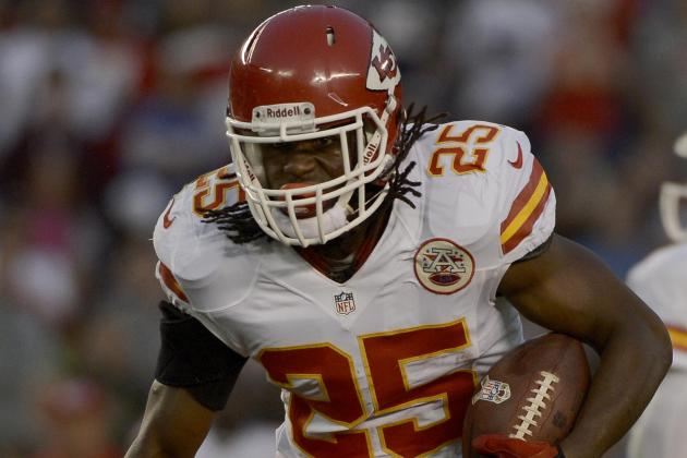 Jamaal Charles Leaves Game Following Hit
