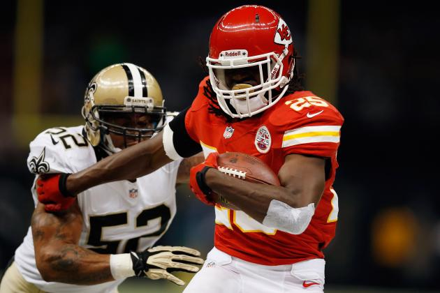 Jamaal Charles Injury: Latest Updates on Chiefs RB's Neck