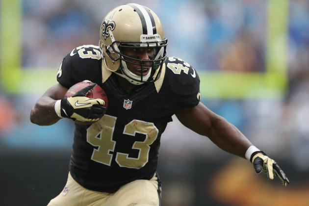 Darren Sproles: Saints RB Is a Must-Sit in Week 9