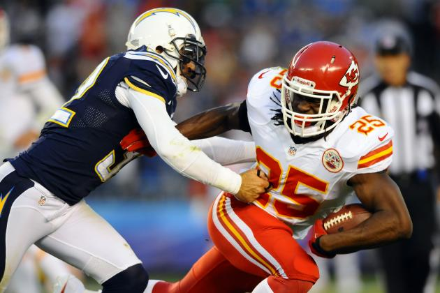 Jamaal Charles: What Neck Injury Means for Chiefs, Fantasy Owners