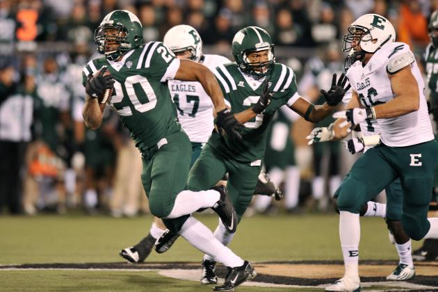Ohio Bobcats Football: Cats Crush Eastern Michigan, Tied for 2nd in MAC East