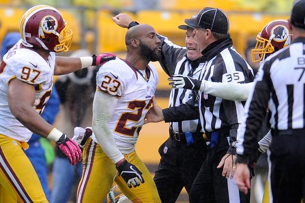 DeAngelo Hall to Be Fined, Not Suspended, and More NFC East News