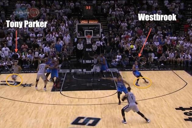 Westbrook's Huge Defensive Fail
