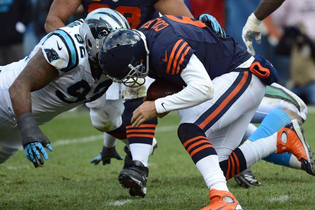 Bears: Assigning responsibility for 25 sacks