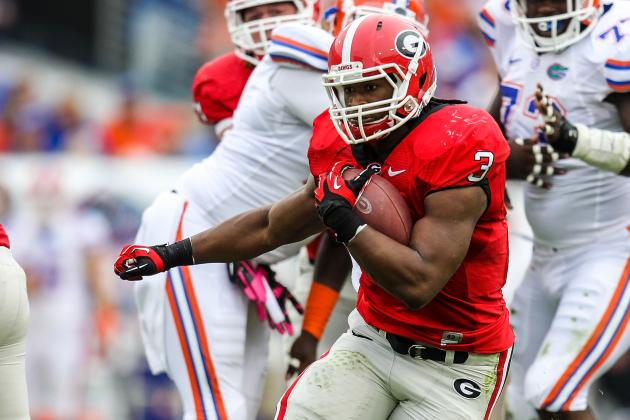 On Pace for 1,000-Yard Season, Todd Gurley 'doesn't Seem Like a Freshman'
