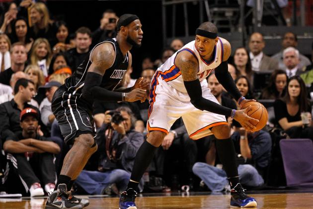 LeBron James vs. Carmelo Anthony: Who Has Advantage in Head-to-Head Matchup?