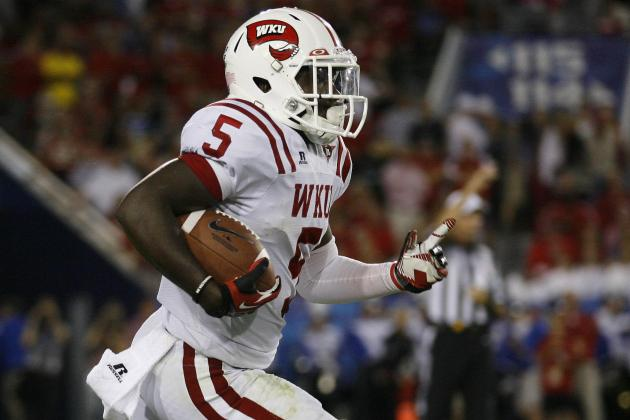 WKU: Antonio Andrews Has Huge Game in Loss to MTSU