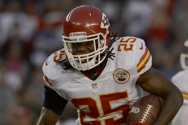 Jamaal Charles: What Injury Would Mean to Chiefs Offense