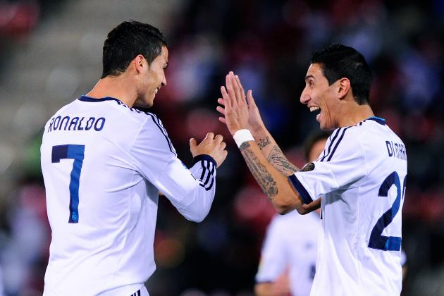 Real Madrid 4-0 Real Zaragoza: Late Goals Aid Big Win