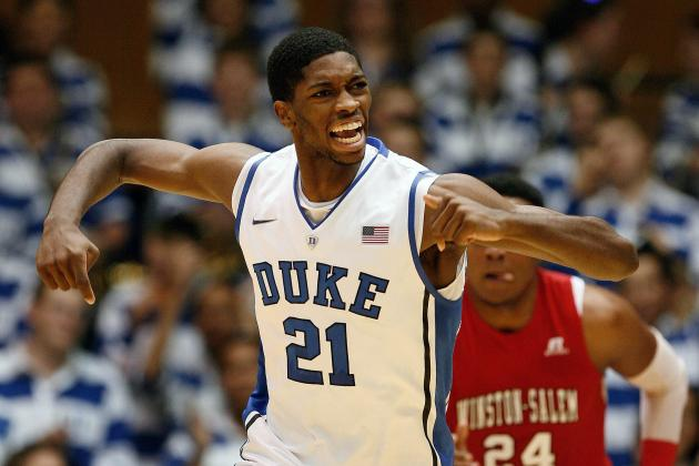 Should Duke's Freshman Forward Amile Jefferson Be in the Blue Devils Starting 5?