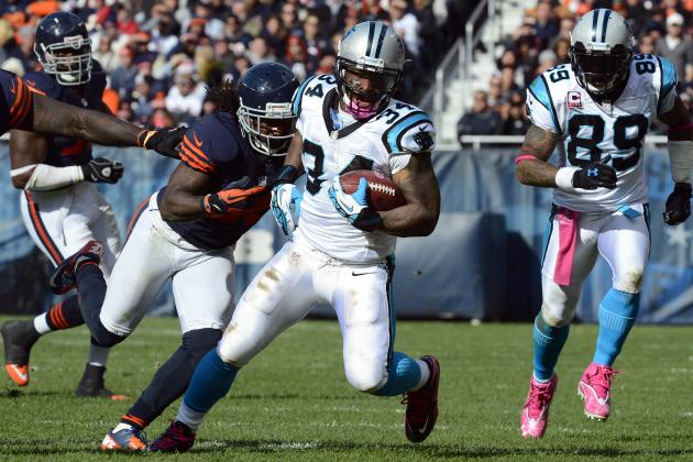 DeAngelo Williams: What's Next for Untraded Panthers RB?