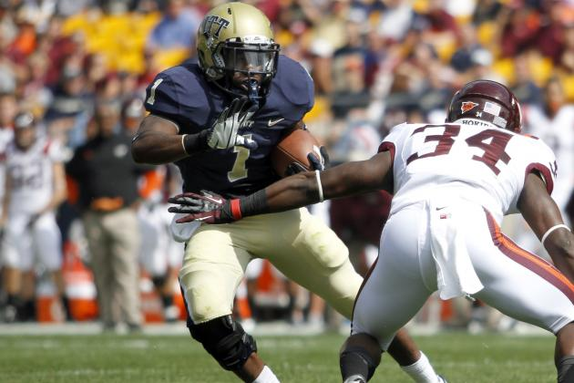 Pitt's Leading RB, WR, DB Charged with Assault