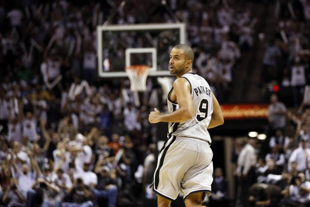Tony Parker Wins NBA Player of the Night with Last-Second Heroics vs Thunder