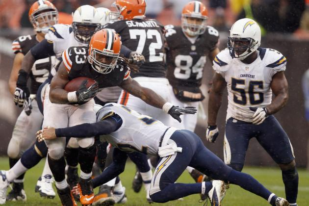 Browns Rookie Trent Richardson Aiming to Become Force on Third-and-1