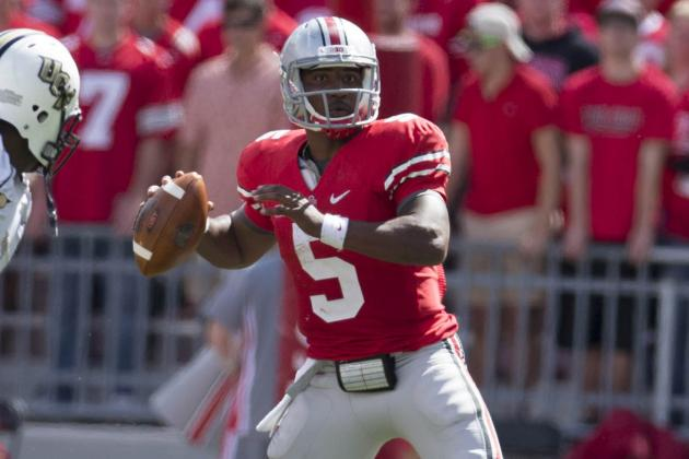 Braxton Miller Needs to Improve Passing Game