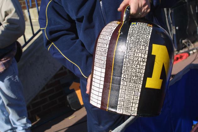 Significance of Little Brown Jug Not Lost on Artist, U-M Sports Historian