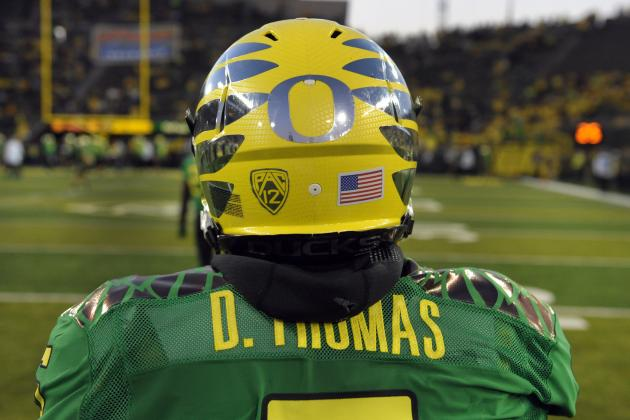 Oregon vs. USC: Ducks' Star Athlete De'Anthony Thomas Will Torch Trojans D