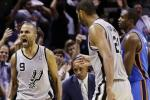 Parker's Buzzer-Beater Lifts Spurs Over Thunder