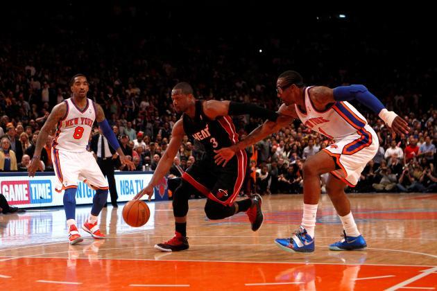 Heat's Wade Critical of NBA Not Postponing Game vs. Knicks
