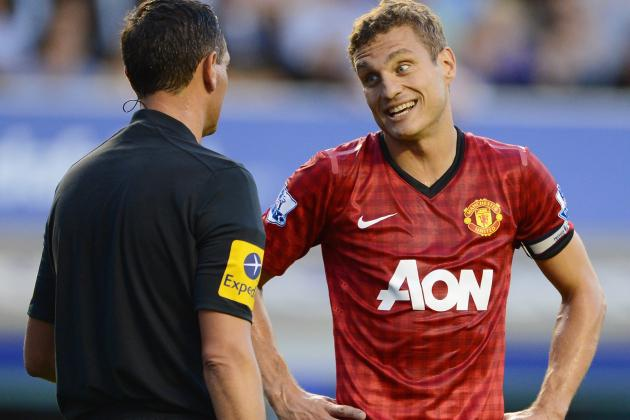 United Skipper Nemanja Vidic Won't Be Fit Until Christmas, Reveals Ferguson