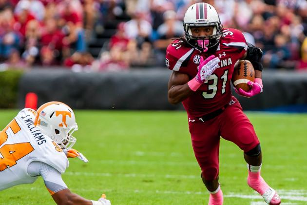 South Carolina''s Running Back Spotlight Again Belongs to Kenny Miles