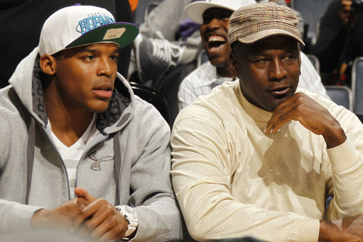 Michael Jordan Offers Some Advice to Struggling Carolina Panthers QB Cam Newton