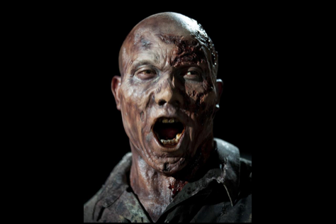 Former Steeler Hines Ward Became a Hideous Zombie for