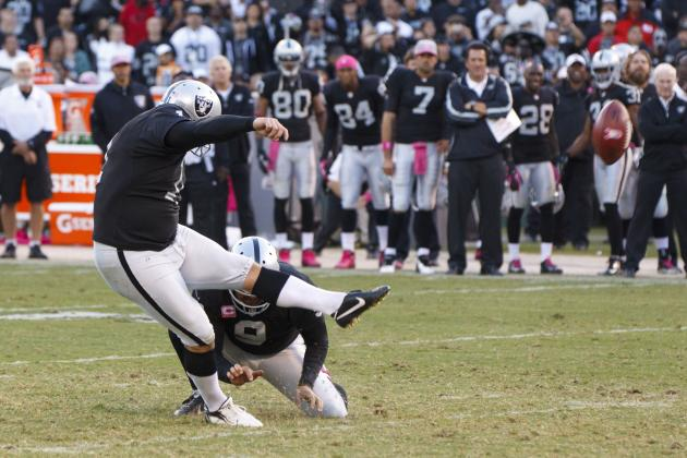 Janikowski Wins Special Teams Award
