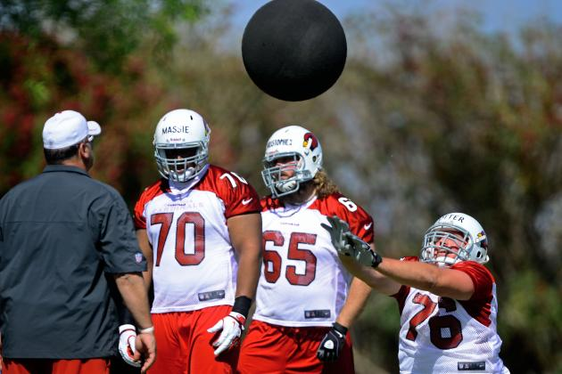 Arizona Cardinals Rookie OL Nate Potter Could See Playing Time