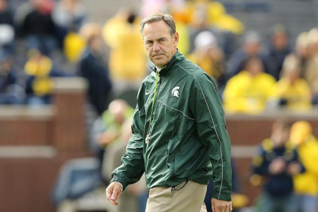 Michigan State Coach Mark Dantonio Gets in the Face(book) of Spartans Fans