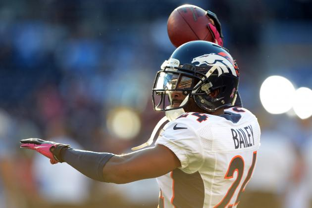 Broncos' Champ Bailey Savors Chance to Cover Bengals Star A.J. Green