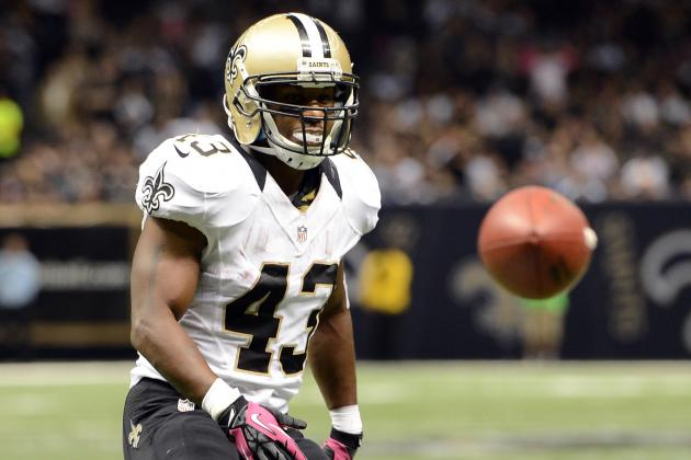 Darren Sproles out with a Broken Hand, Which Required Surgery